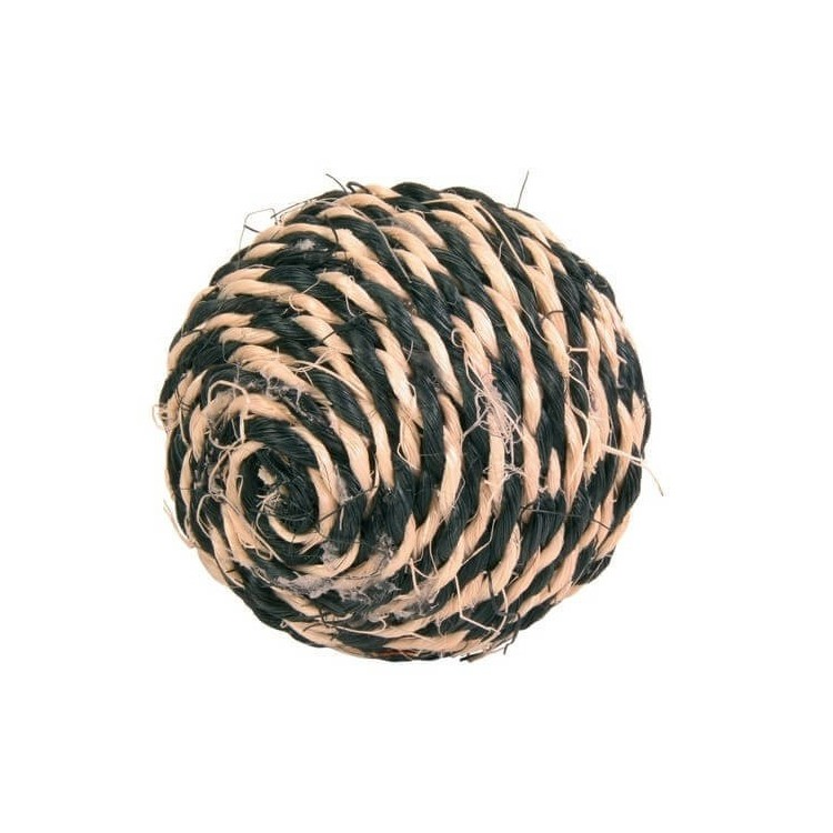 Balle sisal pour chat