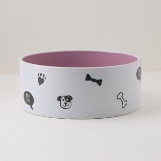 Gamelle chien rose